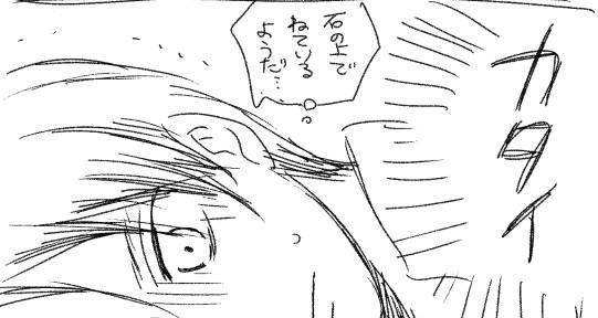 【進撃らくがき漫画】膝枕【途中から腐る】